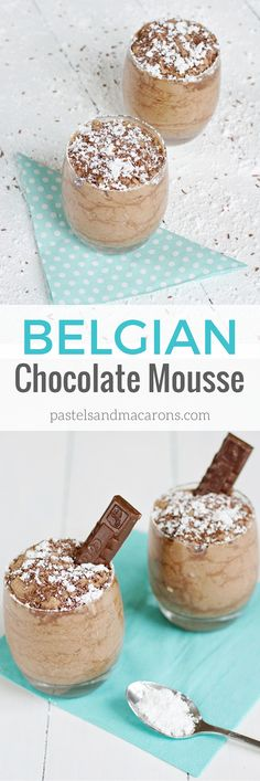 Mouthwatering traditional Belgian Chocolate Mousse that will leave you wanting more!