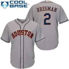 91e0228d407 Astros  2 Alex Bregman Grey Cool Base Stitched Youth MLB Jersey Dallas  Keuchel