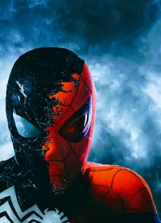 Spider-Man Vs. Venom Marvel Comics, Marvel Comic Universe, Dc Comics Art, Marvel Vs, Marvel Heroes, Captain Marvel, Spiderman Art, Amazing Spiderman, Avengers Wallpaper