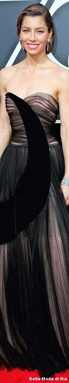 Jessica Biel l 75th Annual Golden Globe Awards l Jan. 2018