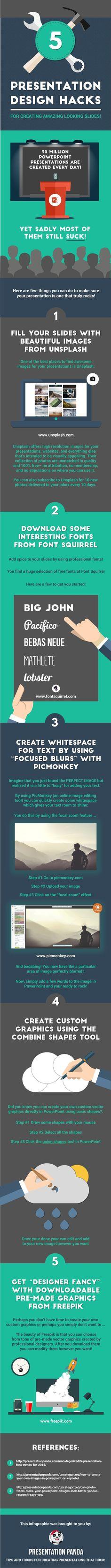 5 Presentation Design Tips For Creating Amazing Looking Slides