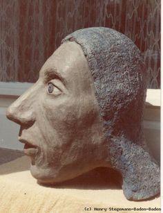 Henry Stegemann - Kopf im Profil