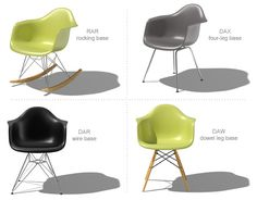"""ROCKER • Model plastic armachair, 1948 • """"""""Who would say that pleasure is not useful?"""" • design CHARLES & RAY EAMES"""