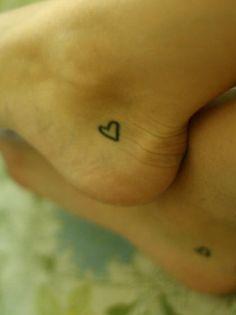 Heart tattoo ♥