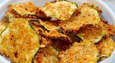 Oven Baked Zucchini Chips! ⓣ