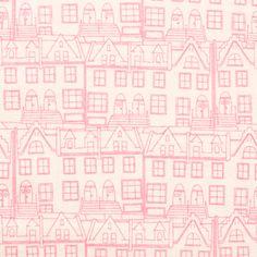 Art Gallery Fabrics Emmy Grace Little Town Glee - jumble shop one