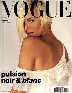 Vogue Paris février 2001 Kate Moss