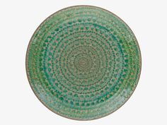 SINTRA GREENS Stoneware Green reactive glaze side plate D21cm - HabitatUK