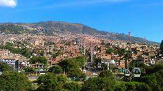 Las comunas de Medellin.Colombia. Foto by me