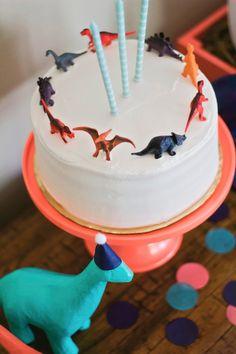 dinosaur birthday birthday party dino cake dinosaurs 3 year old party 2nd Birthday Parties, Birthday Fun, 3 Year Old Birthday Party Boy, Third Birthday, Birthday Ideas, 3 Year Old Birthday Cake, Children Birthday Party Ideas, Simple First Birthday, Birthday Themes For Boys