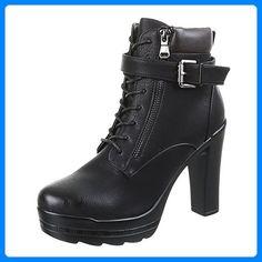 Esprit Stiefeletten Taupe BraunGrau Gr.37 Damen Schuhe Stiefel