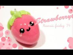 Tuto vidéo : fraise kawaii