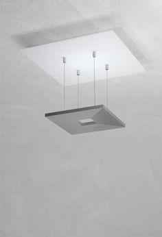 Escale Zen Mini glass, smoothed aluminum