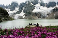 Stunning view of Chitta Khata Lake Azad kashmir - Pakistan