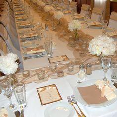 Výsledek obrázku pro svatební stůl