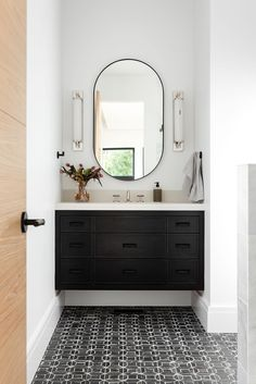 How to Choose the Right Mirror For Your Space Bathroom Storage Solutions, Interior, Home, Home Remodeling, Bathroom Styling, Cheap Home Decor, Bathroom Interior, Bathrooms Remodel, Bathroom Decor