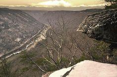Winter Vista Print By Lj Lambert http://fineartamerica.com/products/winter-vista-lj-lambert-art-print.html