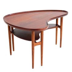 Rare Coffee Table by Arne Vodder for Bovirke   From a unique collection of antique and modern coffee and cocktail tables at https://www.1stdibs.com/furniture/tables/coffee-tables-cocktail-tables/