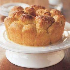Orange Bubble Bread | MyRecipes.com