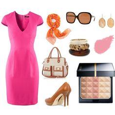 """""""Hot pink & Beige"""" by Pripenzenik"""