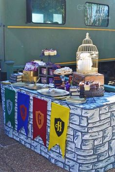 Harry Potter Birthday Party Ideas   Photo 2 of 69