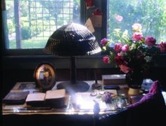 Poet Anne Spencer's special 'spot' in her garden cottage, where she wrote her wonderful poetry. Norton Anthology, American Poetry, Harlem Renaissance, Garden Cottage, Museums, You And I, The Twenties, Study, Key