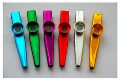 Simple Design Lightweight Kazoo Aluminum Alloy Metal for Guitar Instrument Music Lovers Instrument 4 Colors Optional