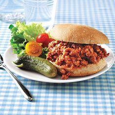 Easy Dinner: Turkey Sloppy Joes
