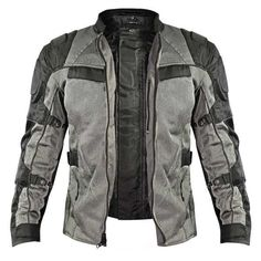 Xelement All Season Tri-Tex and Mesh Black/Grey Jacket This Xelement all season armored motorcycle jacket is the most advanced motorcycle jacket on the market and ensures you're comfortable and protected no matter what the season.