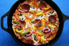Long-rise Pan Pizza. Will try this next in the quest for soft, pillowy pizza crust :)