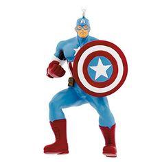 Hallmark Marvel Captain America Christmas Ornament