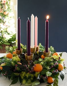 How to Make an Advent Wreath - Sincerely, Sara D. | Home Decor & DIY Projects