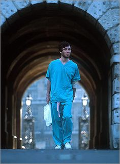 (2002) 28 Days Later...wonderfully done scary movie...Zombies that could run at breaking speed...awesome!