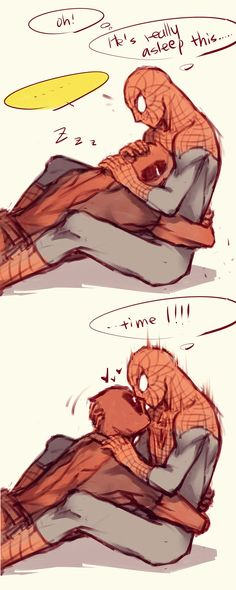 Not a fan of spideypool but the arts cool