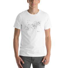 Strange Quark - Unisex Light Soft Cotton Short Sleeve T-Shirt Unisex, Sprinter Van, Fabric Weights, Female Models, Neck T Shirt, Shirt Men, Tee Shirts, Shirt Designs, Shorts