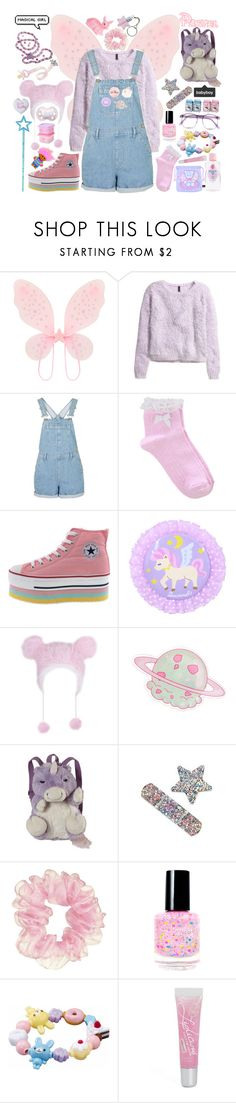 """Fairy Princette!"" by tiny-princette ❤ liked on Polyvore featuring Accessorize, H&M, Oasis, Pillow Pets, Disney, Warehouse, genderfluid, chire, anticgl and princette"