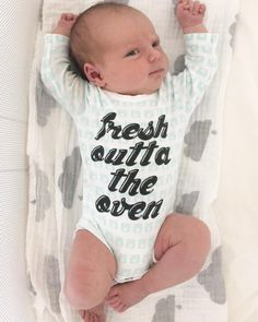 """""""Remember our preggo from Bump Day last week? Well here's the delicious fresh outta the oven Lea…"""" Bun In The Oven, Bump, Baby Baby, Children, Kids, Your Style, Fresh, Inspiration, Clothes"""