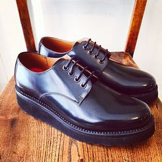 New womans style Ivy for A/W has just dropped online & at Grenson Soho @grensongirlsofficial #grenson #grensons #grensongirls #grensonshoes #ivy #newseason #womens #black #ruboff #leather #gtwo #new #aw15 #grensonsoho #meardst #london