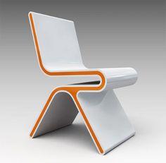 Image of Home Trends and Design Furniture Design Loft, Deco Design, Chair Design, Contemporary Furniture, Cool Furniture, Furniture Design, Furniture Ideas, Furniture Chairs, Retro Furniture