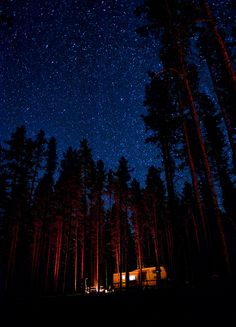 This is the Grand Prize winner to My Montana, and this is EXACTLY what it looks like at night around Big Sky...this place is truly heaven on earth. I've only seen this in one other place and that was in Ourey, Colorado.