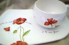 tazas pintadas a mano de porcelana - Buscar con Google