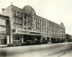 Delmar Blvd got its name by combining the first three letters of Delaware and Maryland, the home states of the owners of two abutting tracts of land along the street. Here's a view of the Tivoli Theater on Delmar in 1925. ©Missouri History Museum