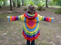 Circle jacket crochet pattern