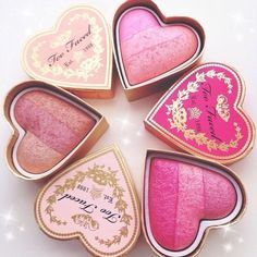 ||Christina|| I have a slight obsession for the look of Too Faced blushes.