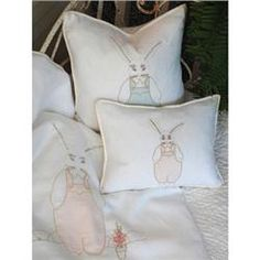 Buy Bunny Pillow Sham online with free shipping from thegardengates.com