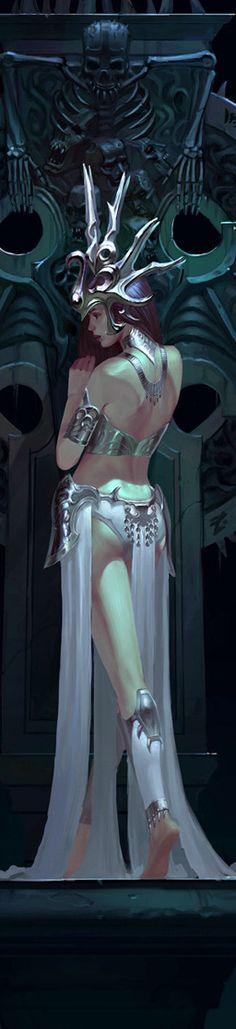 Fantasy art by Jia