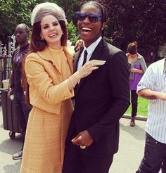 lana del rey and asap rocky. I love this picture