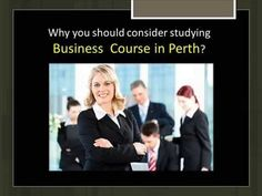 ▶ Why you should consider studying Business Course in Perth? - YouTube