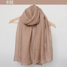 2017 Fashion Winter Scarves Women Hijab Cotton Linen Scarf Pure Color brand scarf luxury Female Winter Shawls And Wraps