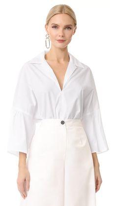 TOME Polo Shirt. #tome #cloth #dress #top #shirt #sweater #skirt #beachwear #activewear